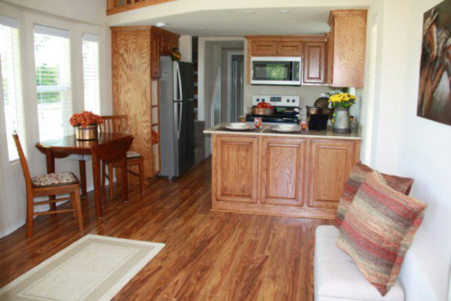 399 Square Foot Tiny House at Vintage Grace Community in Yantis, Texas