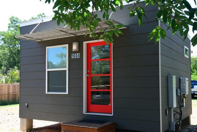 Strange 225 Square Foot Contemporary Tiny House For Sale In Austin Download Free Architecture Designs Rallybritishbridgeorg