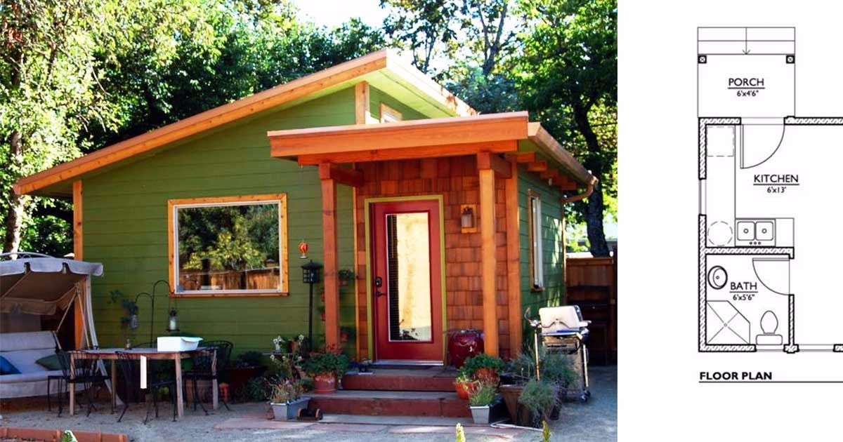 6 Tiny Home Floor Plans With Simple But Efficient Kitchens