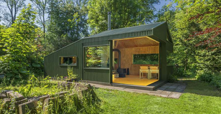 A Tiny Eco House That Blends In