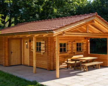 See This Lovely And Spacious Wooden House